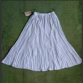 シマムラ(しまむら)の未使用 タグ付き ロングプリーツスカート(ロングスカート)