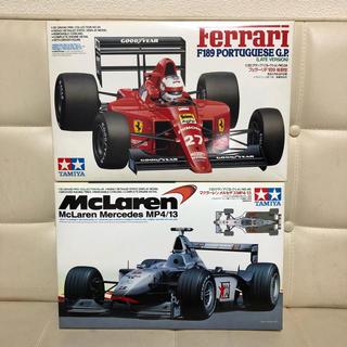 Ferrari - タミヤ フェラーリ F189  マクラーレン MP4/13