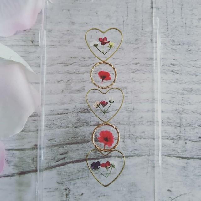 iphonex クリアケース ハード / iPhoneケース ハンドメイド かすみ草とアリッサムの押し花の通販 by RSI's shop|ラクマ