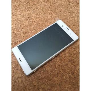 SONY - 【新品同様】Xperia Z3 SO-01G ホワイト  docomo