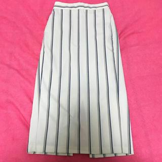 ジーユー(GU)のGU♡ストライプタイトスカート(ひざ丈スカート)
