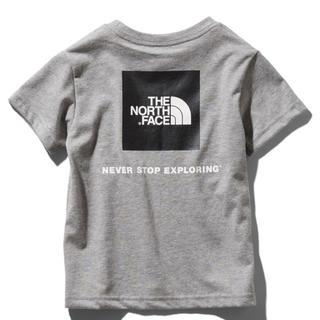THE NORTH FACE - 新品 ノースフェイス キッズ ショートスリーブスクエアロゴティー 150cm