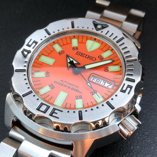 セイコー(SEIKO)の超美品‼️SKX781 オレンジモンスター⭐️(腕時計(アナログ))