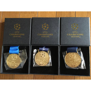 UEFA チャンピオンズリーグ優勝レプリカメダル 2016-2018 BOX付き