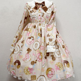 Angelic Pretty - baked sweets parade ワンピース ベージュ