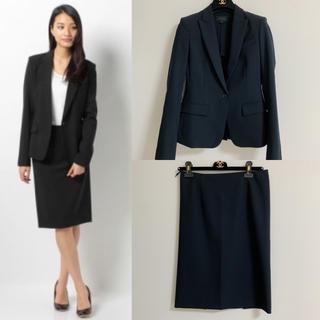 bd402a72bc161 theory - 定価70200円 美品 セオリー ジャケット スカート セットアップ スーツ 紺