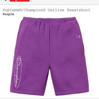 シュプリーム(Supreme)のS supreme champion outline sweat shorts(ショートパンツ)