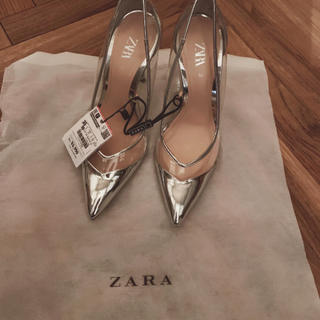 ZARA - ザラのヒールパンプス