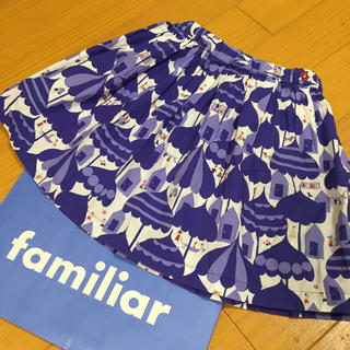 familiar - 110㎝ familiar スカート