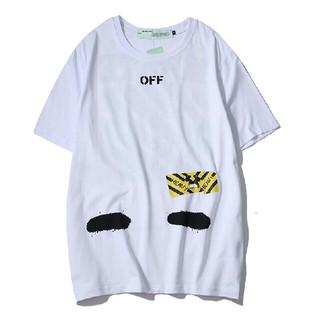 オフホワイト(OFF-WHITE)のoff white Tシャツ 半袖t-shirt 綿 ホワイト(Tシャツ(半袖/袖なし))