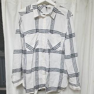 エイチアンドエム(H&M)のチェックシャツ(シャツ/ブラウス(長袖/七分))