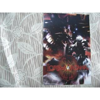 スクウェアエニックス(SQUARE ENIX)のロードオブアルカナ ポストカード 非売品 スクエニ (写真/ポストカード)
