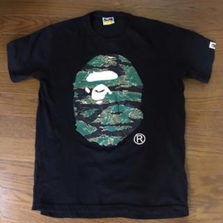 A BATHING APE - A BATHING APE黒Tシャツ