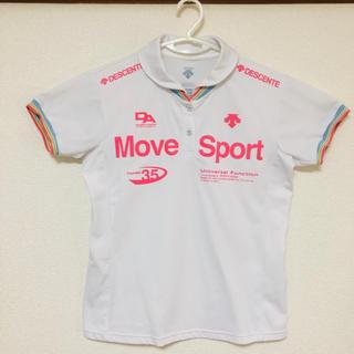 DESCENTE - ☆DESCENTE  move sport タフポロ  O