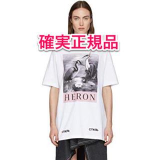 オフホワイト(OFF-WHITE)のheron preston tシャツ(Tシャツ/カットソー(半袖/袖なし))