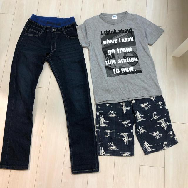 しまむら(シマムラ)のしまむら☺︎3点set キッズ/ベビー/マタニティのキッズ服 男の子用(90cm~)(Tシャツ/カットソー)の商品写真