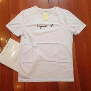 agnes b. - agnesb. サイズM白アニエス・ベー半袖Tシャツ