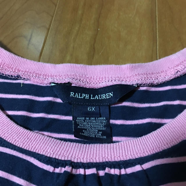 Ralph Lauren(ラルフローレン)のラルフローレン ワンピース キッズ/ベビー/マタニティのキッズ服 女の子用(90cm~)(ワンピース)の商品写真