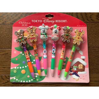 Disney - 新品未使用未開封ディズニーリゾート2010クリスマス限定ボールペンセット送料無料