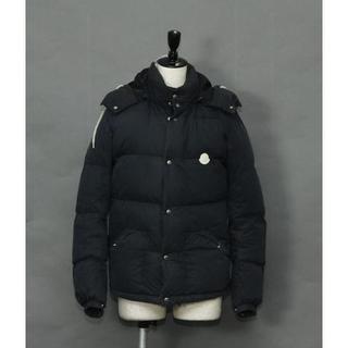 モンクレール(MONCLER)のモンクレール ダウンコート ジャケット ネイビー 0 正規品(ダウンジャケット)