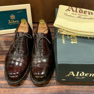 オールデン(Alden)の美品❗️《ALDEN》箱、袋付き コードバン994  7B/D(ドレス/ビジネス)