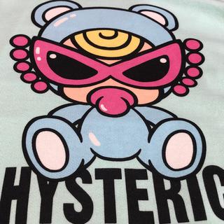HYSTERIC MINI - sweet teddymini総柄ラグランセット