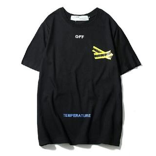 オフホワイト(OFF-WHITE)の新品off-white Tシャツ シンプル 送料無料(沖縄・離島は除く)(Tシャツ/カットソー(半袖/袖なし))