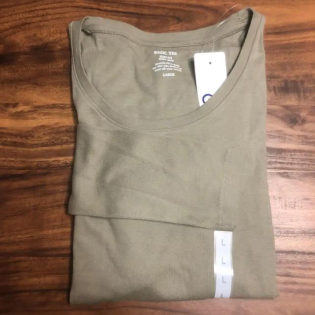 GU(ジーユー)のクールネックt レディースのトップス(Tシャツ(長袖/七分))の商品写真