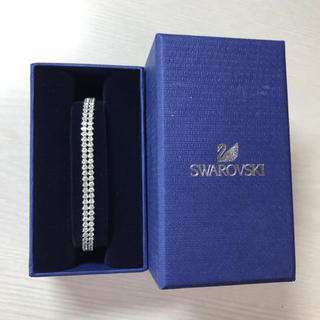 スワロフスキー(SWAROVSKI)の新品スワロフスキーブレスレット(ブレスレット/バングル)