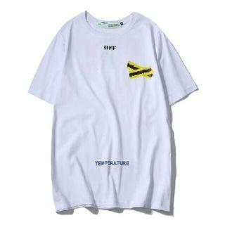OFF-WHITE - 新品off-white Tシャツ シンプル 送料無料(沖縄・離島は除く)
