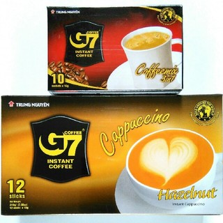 G7 コーヒー カプチーノ & カフェオレ 2種22包セット
