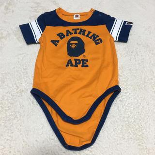 アベイシングエイプ(A BATHING APE)のa bathing ape ロンパース サイズ80(ロンパース)
