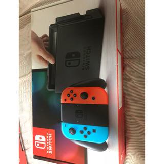 Nintendo Switch - Switch 中古品ネオンレッド、ブルー