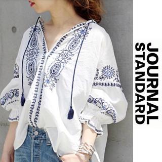 JOURNAL STANDARD - 【ジャーナルスタンダード】刺繍ブラウス イエナ フレームワーク お好きな方♪