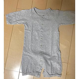 コムサイズム(COMME CA ISM)のCOMME ÇA ISM 長袖カバーオール  50-60cm(カバーオール)