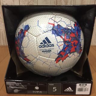 adidas - サッカーボール 5号 検定球 サッカー フットボール アディダス adidas