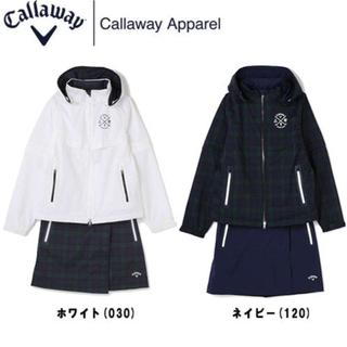 Callaway - 【新品タグ付き】キャロウェイ  レインウェア ホワイト上下セット Mサイズ