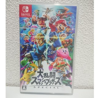 Nintendo Switch - 大乱闘スマッシュブラザーズ ニンテンドースイッチ ソフト