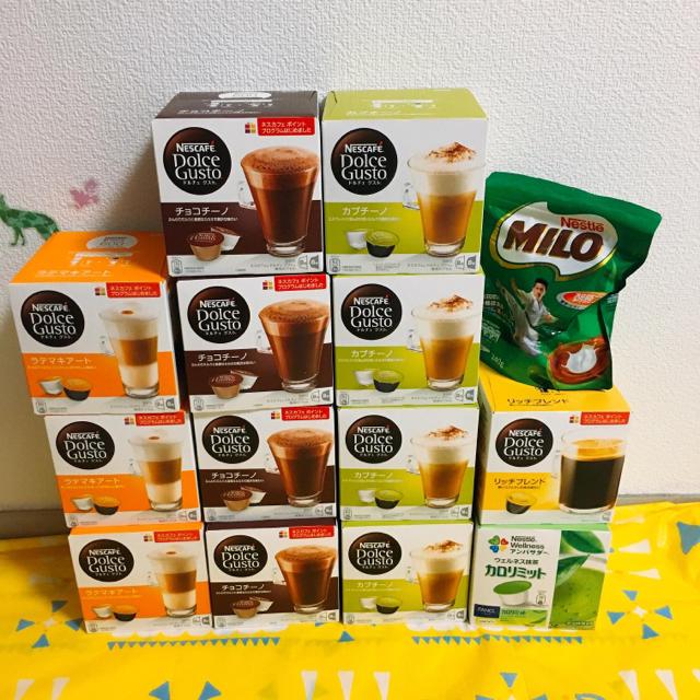 Nestle(ネスレ)のドルチェグスト  専用カプセル 食品/飲料/酒の飲料(コーヒー)の商品写真