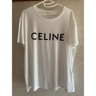 セリーヌ(celine)のクルーネックTシャツ celineプリントジャージー(Tシャツ/カットソー(半袖/袖なし))