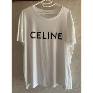 celine - クルーネックTシャツ celineプリントジャージー