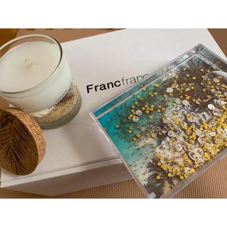 フランフラン(Francfranc)のフランフラン  キャンドル 写真立て セット(キャンドル)