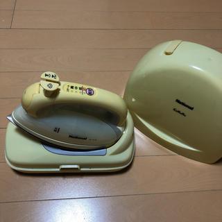 パナソニック(Panasonic)のナショナル National NI-CL30 アイロン 黄色 イエロー(アイロン)