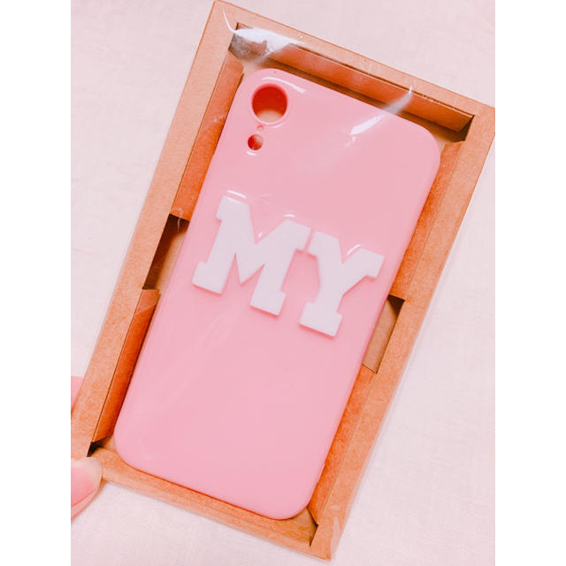 iPhone XRケース💘の通販 by ゆみろる's shop|ラクマ
