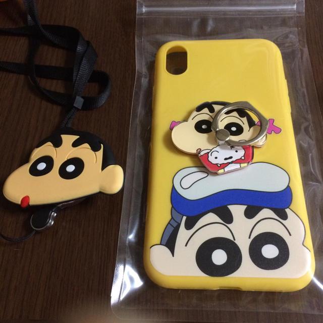 iphone 8 ケース サーフ 、 iPhone XRケース スマホリング ストラップ付きの通販 by m's shop|ラクマ