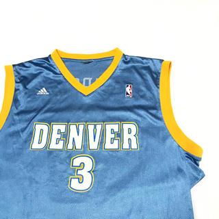 アディダス(adidas)のadidas NBAデンバーナゲッツ ユニフォーム アディダス アイバーソンXL(バスケットボール)