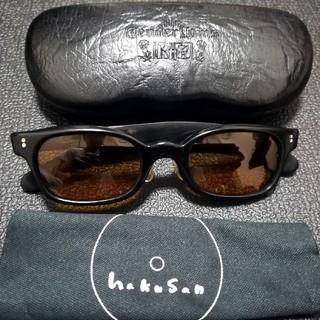 テンダーロイン(TENDERLOIN)の白山眼鏡 & テンダーロイン / IN THE WIND 黒×ゴールド 訳あり(サングラス/メガネ)