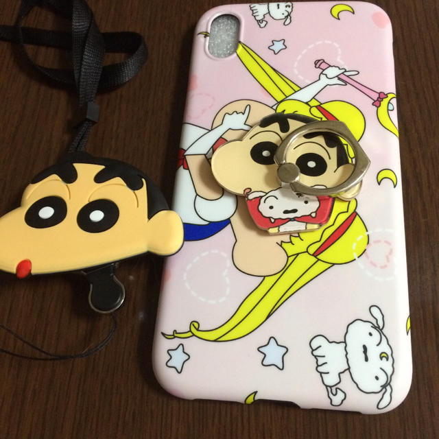 iphone8 ケース 手帳 型 スタンド | iPhone XRケース スマホリング ストラップ付きの通販 by m's shop|ラクマ