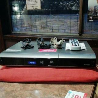SHARP - SHARP HDD/DVDレコーダー  DV-AC82 リモコン 付セット!