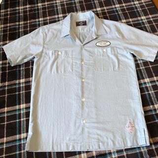 CRIMIE - クライミー   オープンカラー ドットワークシャツ